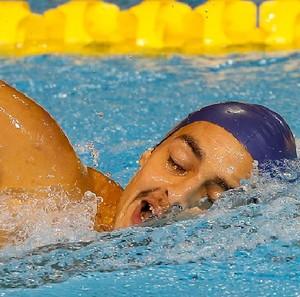 Ruiter Silva, ouro na natação 400m livre S9 (Foto: CPB/Mpix)
