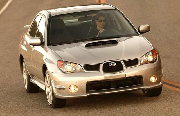 Subaru Impreza WRX 2006 (Foto: Divulgação)