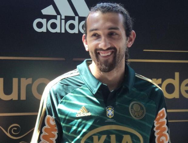 Barcos camisa Palmeiras (Foto: Rodrigo Faber / Globoesporte.com)