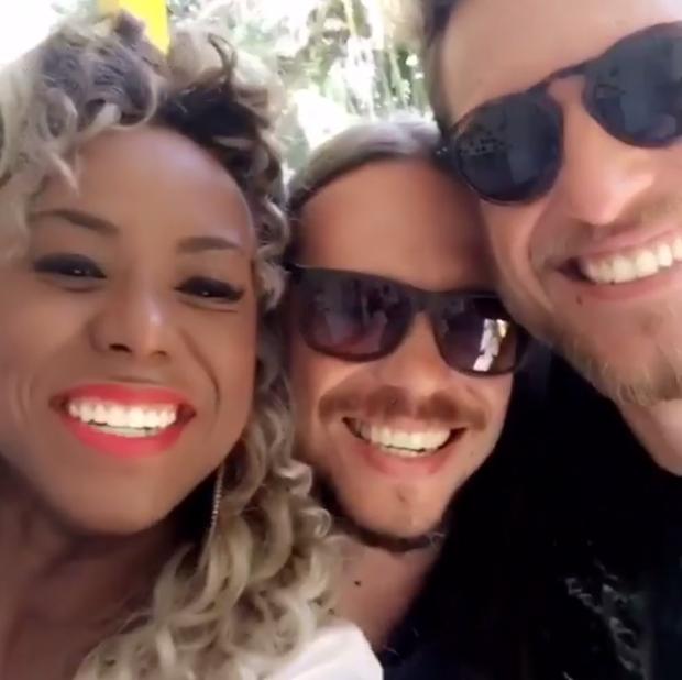 Adélia, Tamiel e Daniel (Foto: Reprodução/Instagram)