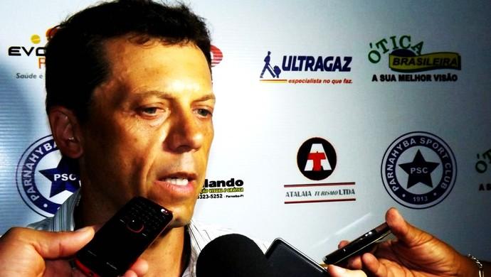 Fernando Tonet em entrevista após derrota para Flamengo-PI (Foto: Renneé Fontenele/Portal Azulino )