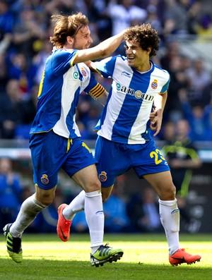 Philippe coutinho espanyol gol Malaga (Foto: Agência EFE)
