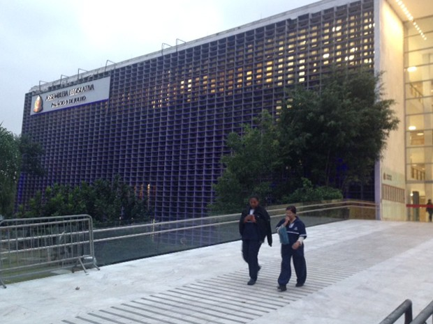 Fachada da Assembleia Legislativa de São Paulo (Foto: Roney Domingos/ G1 )