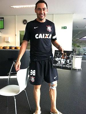 Chicão zagueiro do Corinthians (Foto: Divulgação)