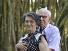 Casal de SC faz ensaio romântico para comemorar 70 anos juntos; veja fotos