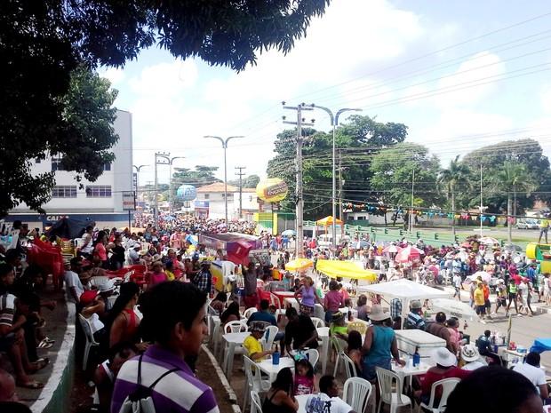 Seis mil pessoas são esperadas no evento (Foto: João Ricardo/G1 Maranhão)