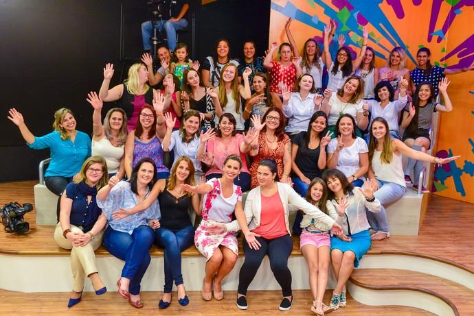 Estúdio C Daiane Fardin mulheres (Foto: Priscila Fiedler/RPC)