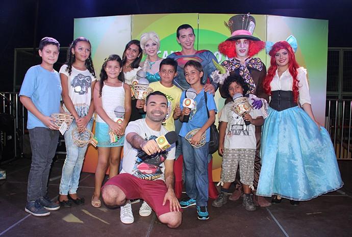 Selecionados participarão de gravação do Paneiro (Foto: Katiúscia Monteiro/ Rede Amazônica)