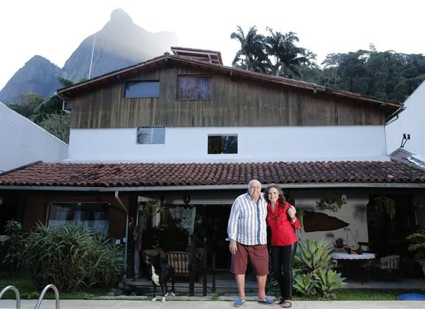 Rosamaria Murtinho e Mauro Mendonça abrem casa no Rio de Janeiro para o EGO (Foto: Marcos Serra Lima / EGO)