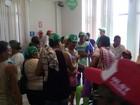 Movimentos sociais desocupam agências da Caixa e INSS em Alagoas
