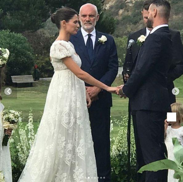 O casamento de Bianca Balti e Matthew McRae em Laguna Beach (Foto: Reprodução/Instagram)