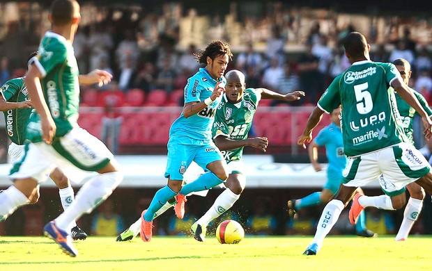 Neymar na decisão Santos x Guarani paulista (Foto: Marcos Ribolli / Globoesporte.com)