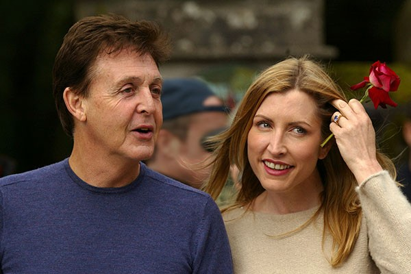 Paul McCartney e Heather Mills (Foto: Getty Images)