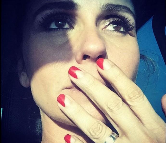 Em rede social, Giovanna Antonelli mostra novas unhas (Foto: Arquivo Pessoal )