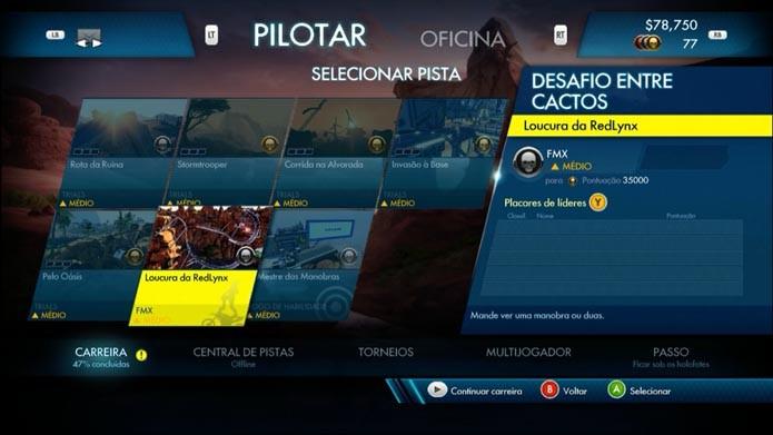 Trials Fusion: como jogar o game (Foto: Reprodução/Murilo Molina)