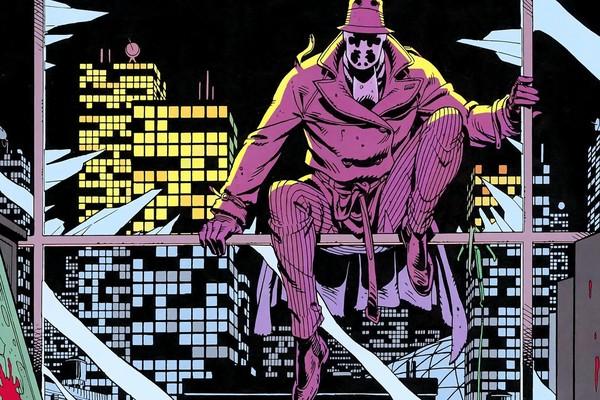 Uma cena de Watchmen, quadrinho de Alan Moore e Dave Gibbons (Foto: Reprodução)