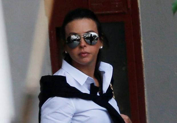 A advogada Adriana Ancelmo, mulher do ex-governador do Rio Sérgio Cabral (Foto: Ricardo Moraes/Reuters)