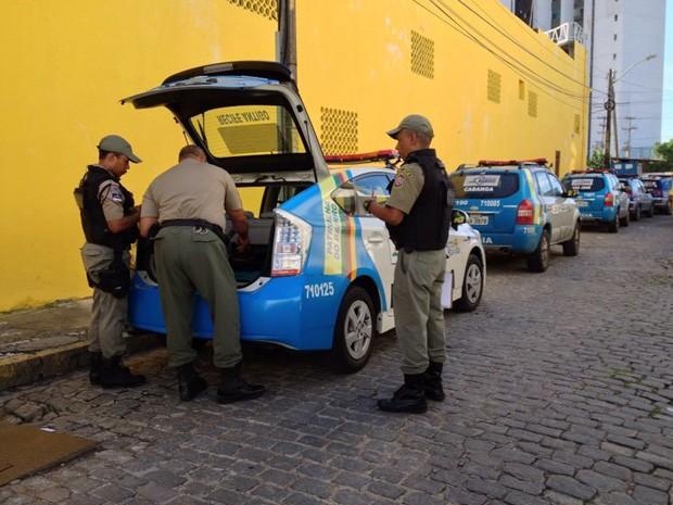 Policiais Militares voltam ao trabalho no Recife, Região Metropolitana e interior do estado (Foto: Kety Marinho/TV Globo)