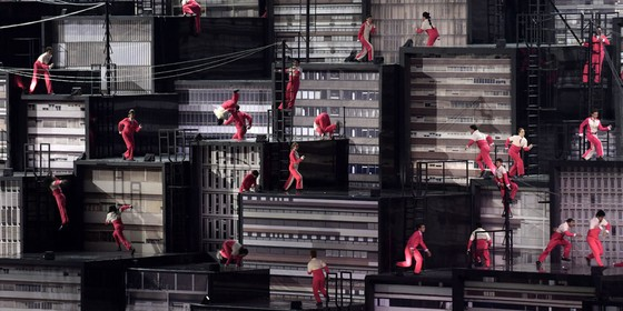 Cerimonia de abertura das Olimpíadas Rio 2016 (Foto: Grigoriy Sisoev/Sputnik/AFP)