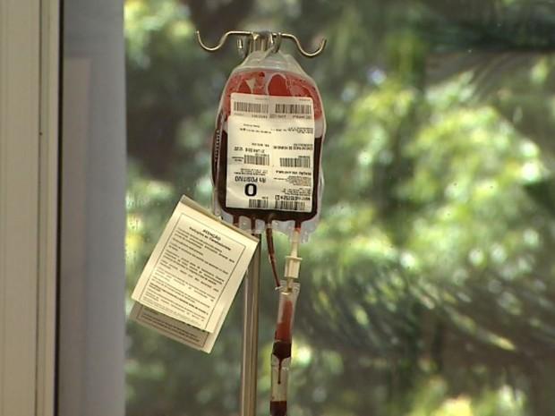 Doação de sangue no Hemocentro de Ribeirão Preto, SP (Foto: Maurício Glauco/EPTV)