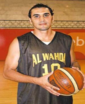 Basel Raiya era jogador do Al Wahda e foi morto em 2012 (Foto: Divulgação Al Wahda)