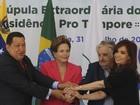 Dilma diz esperar que Paraguai 'normalize situação institucional'