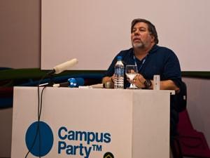 Steve Wozniak hoje não tem mais nenhuma ligação formal com a Apple (Foto: Altieres Rohr/Especial para o G1)