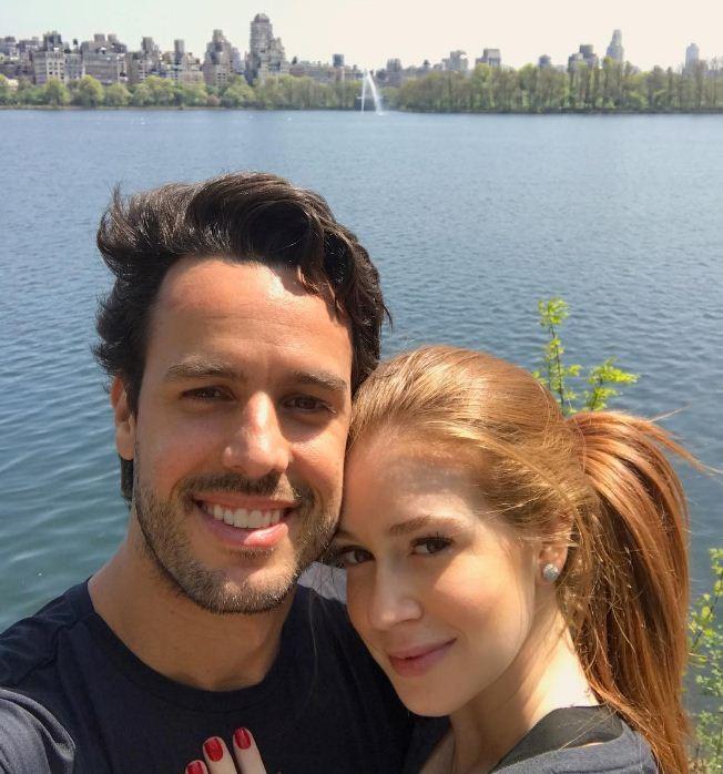 Marina Ruy Barbosa aproveita viagem romântica com noivo em Nova York (Foto: Reprodução/Instagram)