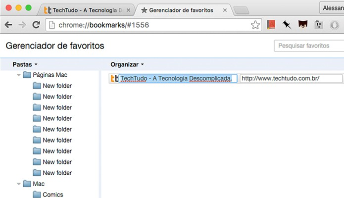 Chrome-Editar-Favoritos