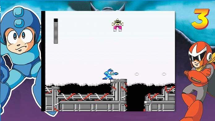 Mega Man Legacy possui elementos originais dos games (Foto: Reprodução/Felipe Vinha)