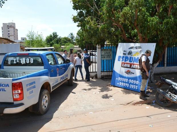 Lava rápido na cidade era utilizado para compra de votos (Foto: Divulgação/Polícia Civil)