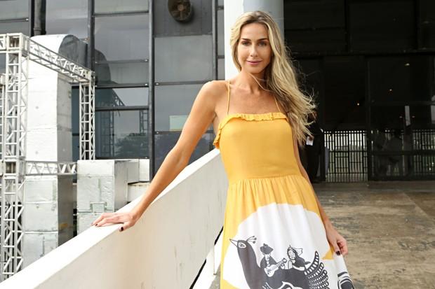 Mariana Weickert no SPFW (Foto: Celso Tavares / EGO)