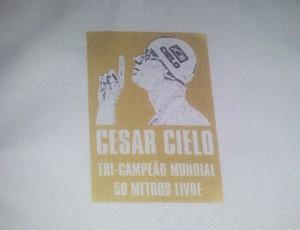 César Cielo União Barbarense Leão da Treze (Foto: Guto Marchiori)