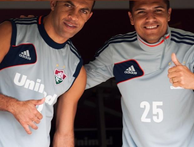 anderson leandro euzébio flu (Foto: Bruno Haddad / FluminenseFC)