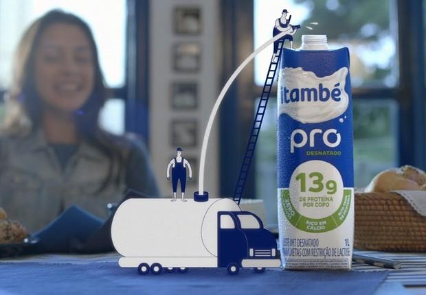 Propaganda da Itambé (Foto: Reprodução/YouTube)