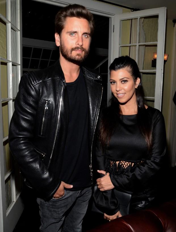 Por que Kourtney Kardashian e Scott Disick estão mais