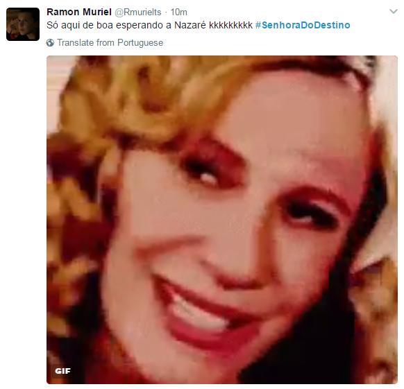 Volta de 'Senhora do destino' repercute nas redes sociais (Foto: Reprodução)