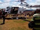 Em coma após capotar o carro, PM é socorrido de helicóptero para Natal