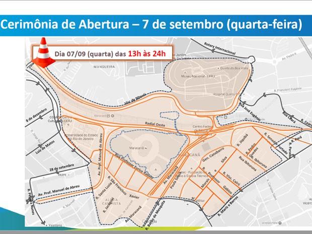 Veja interdições para a Cerimônia de Abertura dos Jogos Paralímpicos (Foto: Divulgação)