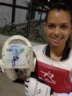 yandra dias taekwondo (Foto: Juscelino Filho)
