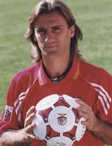 João Pinto, ex-companheiro de Isaías nos tempos de Benfica (Foto: Divulgação)