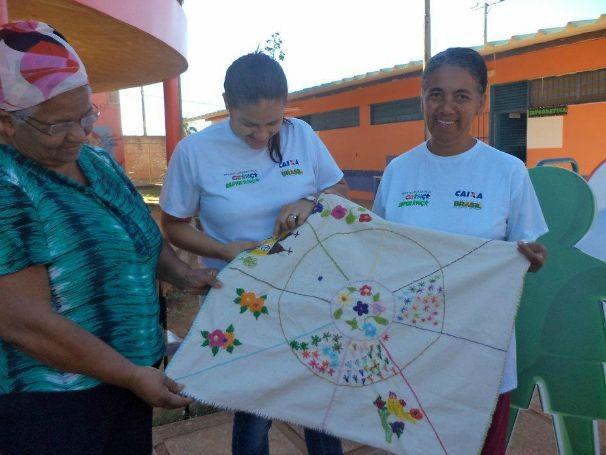 Instituto Proeza desenvolve projetos de geração de renda (Foto: Divulgação)