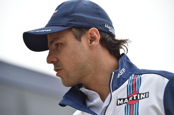 Felipe Massa no GP da Inglaterra de Fórmula 1 (Foto: AFP)