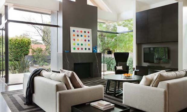 D cor do dia escuro relaxante casa vogue interiores for Decore maison 2012