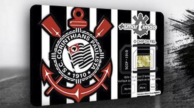 O Corinthians usa a rede da Vivo em sua operadora (Foto: Reprodução)