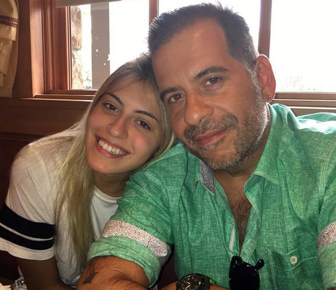 Leandro Hassum e Pietra vão estar no 'Caldeirão' (Foto: Arquivo Pessoal)