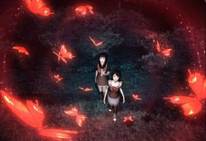 Fatal Frame 2: jogo conta a história de duas irmãs que se perdem em bosque (Foto: Reprodução/Writers Cafe)