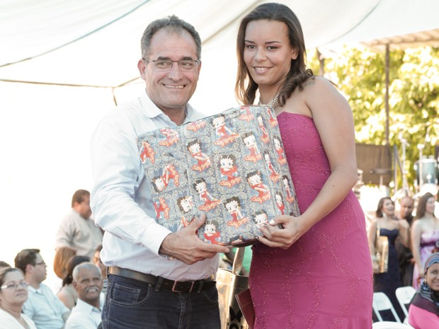 Em terceiro lugar ficou Rafaela Azevedo da Silva (Foto: Felipe Hidvégi/Seap/Divulgação)