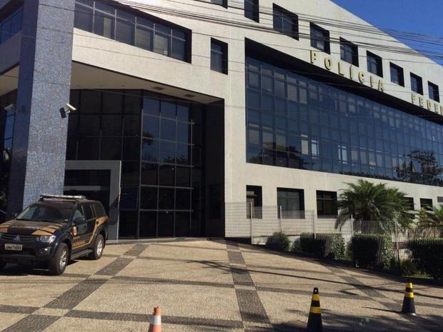 Sede da Polícia Federal em Goiânia, Goiás (Foto: Vitor Santana/G1)