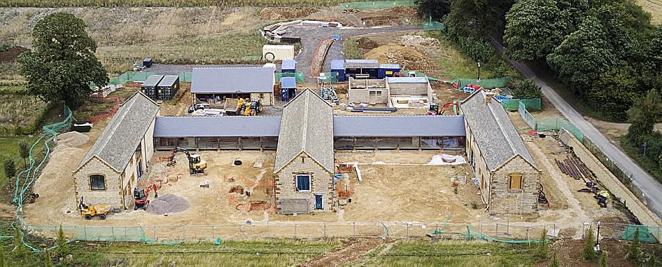 Local da futura piscina dos Beckham (Foto: Reprodução)